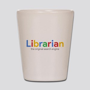 Librarian The Original Search Engine Shot Glass