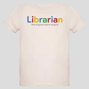 6b9327d2707 Librarian The Original Search Organic Kids T-Shirt