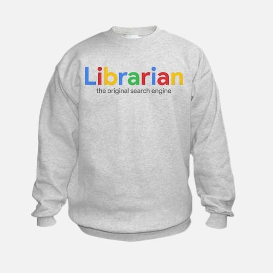 Librarian The Original Search Engi Sweatshirt