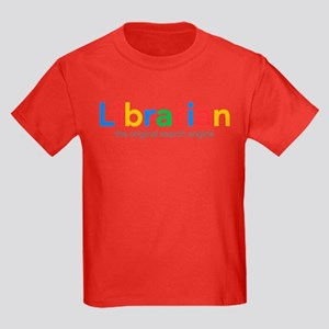 Librarian The Original Search En Kids Dark T-Shirt