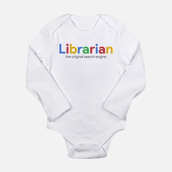 Librarian The Original Long Sleeve Infant Bodysuit