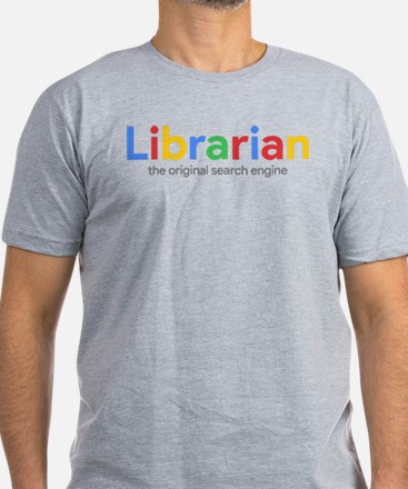 Librarian The Original Men's Fitted T-Shirt (dark)