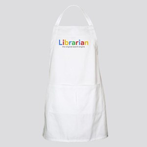 Librarian The Original Search Engine Light Apron
