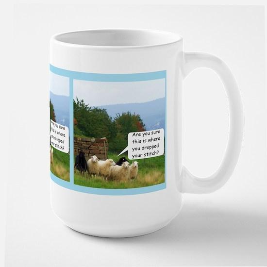 Drop Stitch Sheep Mugs