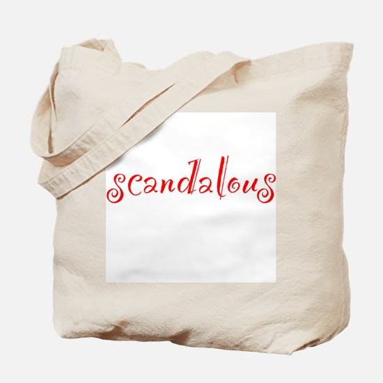Scandalous Tote Bag