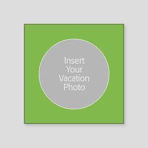 Green Photo Border Sticker