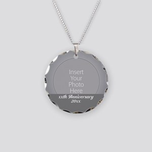 Anniversary Silver Necklace