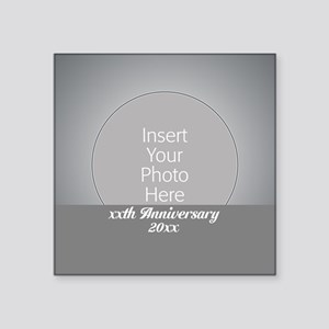 Anniversary Silver Sticker