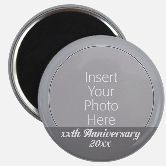 Anniversary Silver Magnets