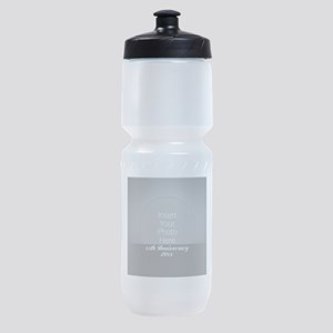 Anniversary Silver Sports Bottle