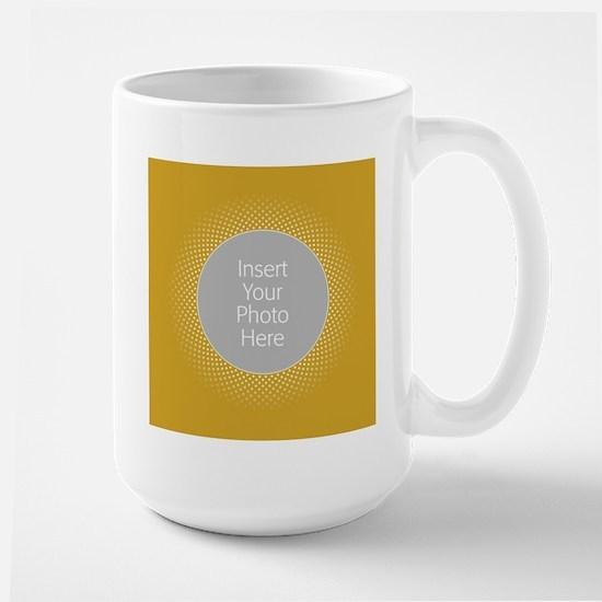 Custom Polka Dots Gold Mugs