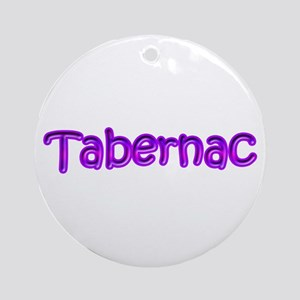 Canadian French Tabernac Ornament (Round)