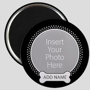 Dog Bone Pet Photo Magnets