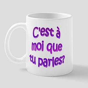 R U Talking To Me? Mug