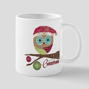 Hoo, Hoo, Hoo, Merry Christmas Mugs