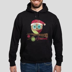 Hoo, Hoo, Hoo, Merry Christmas Hoodie