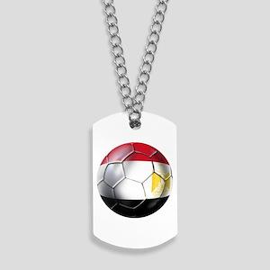Egypt Soccer Ball Dog Tags