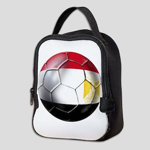 Egypt Soccer Ball Neoprene Lunch Bag