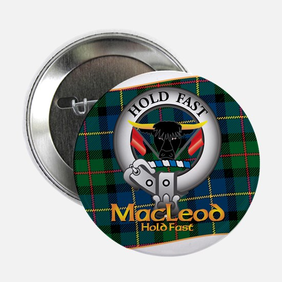 "MacLeod Clan 2.25"" Button"