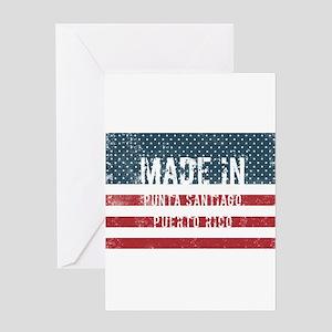 Made in Punta Santiago, Puerto Rico Greeting Cards
