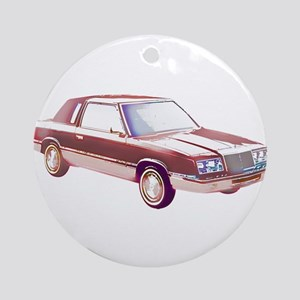 1983 Chrysler LeBaron Ornament (Round)