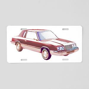 1983 Chrysler LeBaron Aluminum License Plate