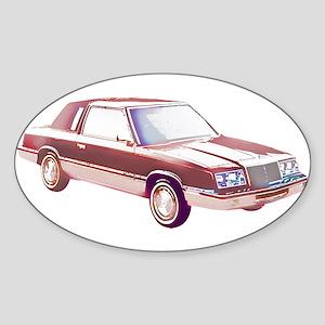 1983 Chrysler LeBaron Sticker