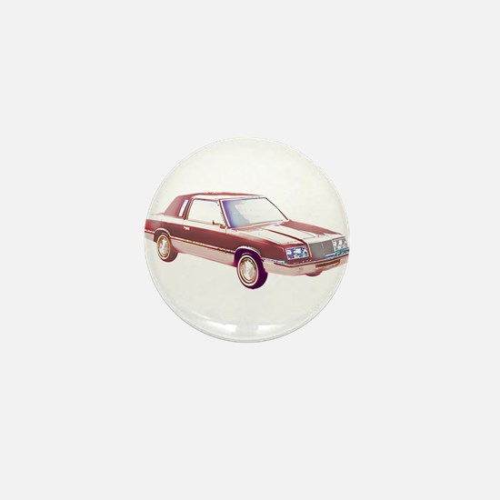 1983 Chrysler LeBaron Mini Button