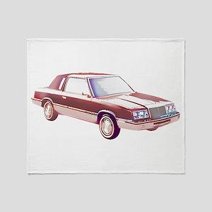 1983 Chrysler LeBaron Throw Blanket