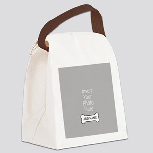 Dog Bone Pet Canvas Lunch Bag
