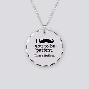 I Have Autism Necklace Circle Charm