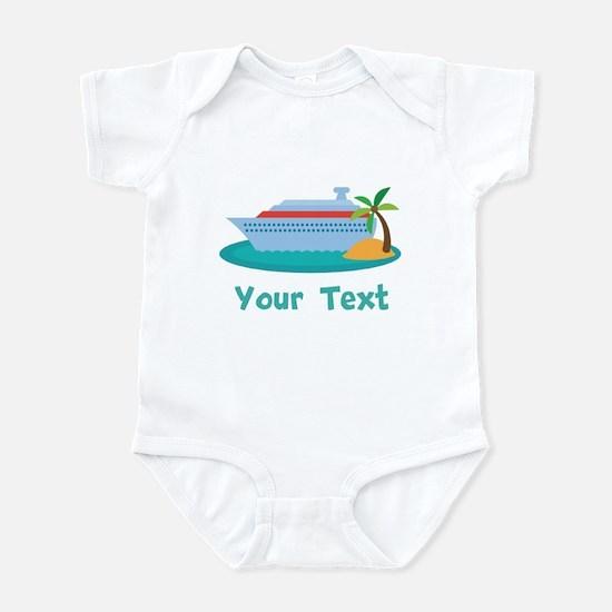 Personalized Cruise Ship Infant Bodysuit
