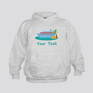 Personalized Cruise Ship Kids Hoodie