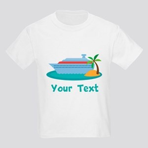 Personalized Cruise Ship Kids Light T-Shirt