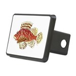 Red Lionfish Hitch Cover