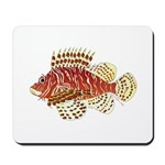 Red Lionfish Mousepad