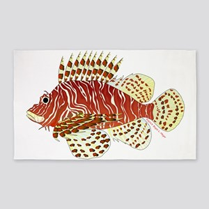 Red Lionfish 3'x5' Area Rug