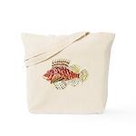 Red Lionfish c Tote Bag