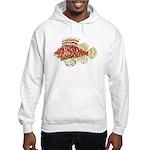Red Lionfish c Hoodie