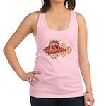 Red Lionfish c Racerback Tank Top