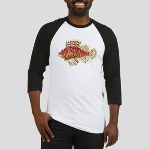 Red Lionfish c Baseball Jersey