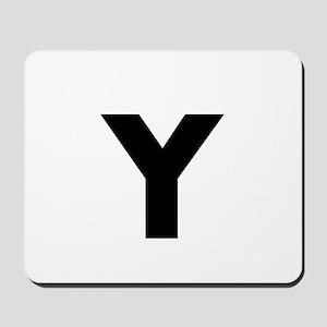 Modern Monogram Mousepad