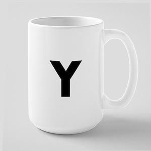Modern Monogram Mugs