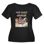 Free Range American Plus Size T-Shirt