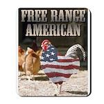 Free Range American Mousepad