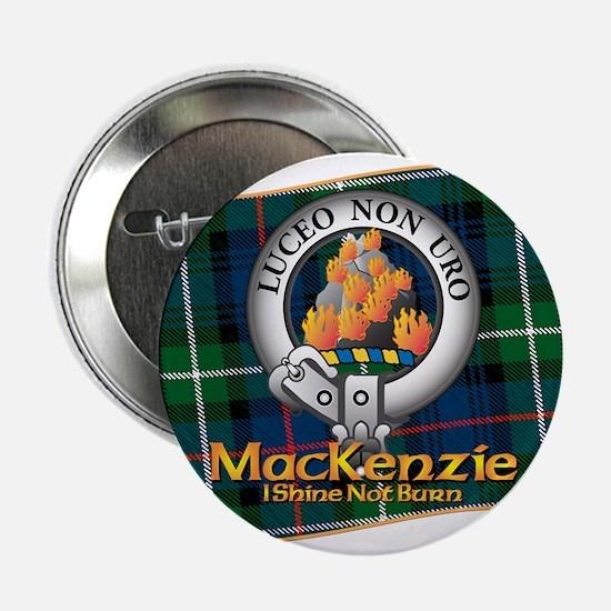 """MacKenzie Clan 2.25"""" Button"""