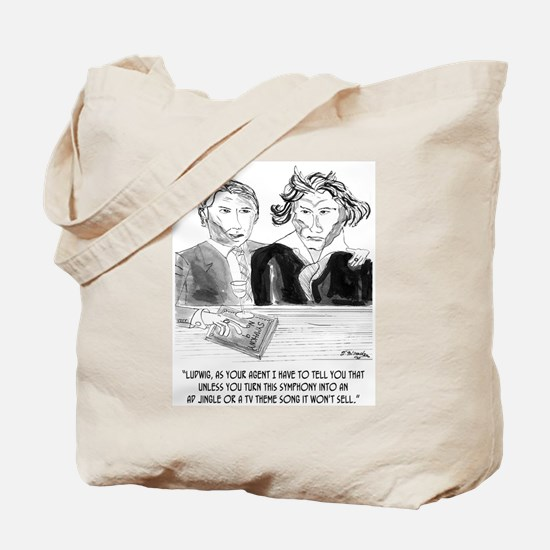 Beethoven's Jingle Tote Bag