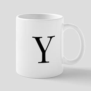Classic Monogram Mugs