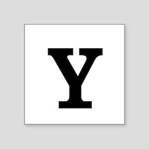 Monogram Bold Sticker