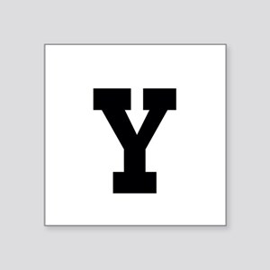 Sporty Monogram Sticker